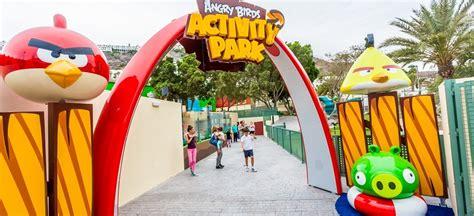 theme park gran canaria angry birds activity park gran canaria theme parks