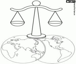 Imagenes De Justicia Social Para Colorear | juegos de d 237 a mundial d 237 a internacional para colorear