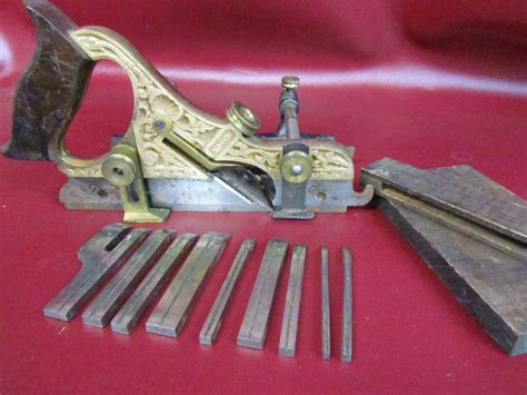 antique stanley  miller patent hand plane woodworking