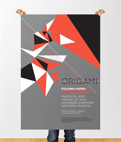 Origami Show - origami exhibition on behance