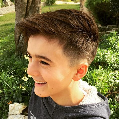 Hairstyles For Boys by 25 Cool Haircuts For Boys 2018