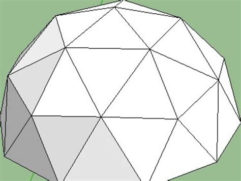 geodesic dome template dean s geodesic dome and n gon pyramid maker by m g