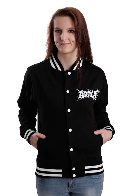 Attla Jaket attila snake college jacket official metalcore merchandise shop impericon uk