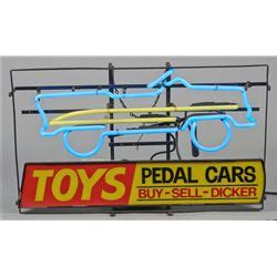 light up advertising signs quot toys pedal cars quot light up advertising sign