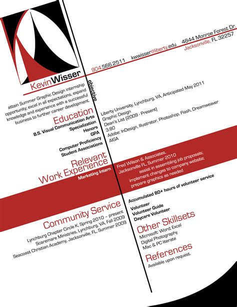 graphic artist resume lovely resume format for graphic designer