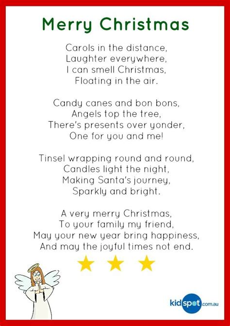best christmas poems for kids poetry for school work poems cards