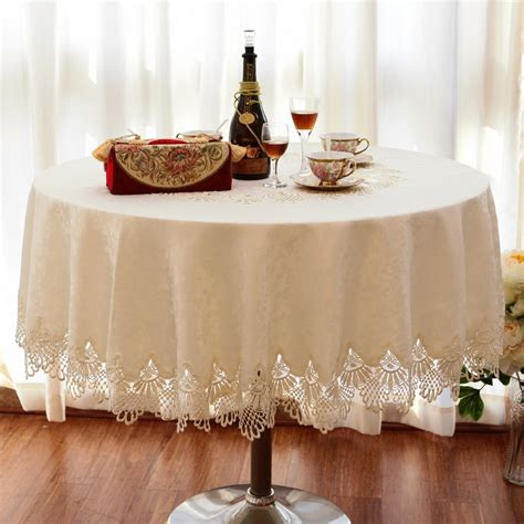 Tablecloth For Oval Dining Table Luxury Fashion Table Cloth Dining Table Cloth Lace Decoration Oval Tablecloth Table