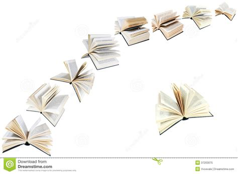 when i m asleep i can fly books arch of flying books isolated stock image image 37203075