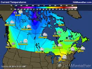 canadian weather maps