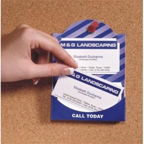 Bulletin Board Business Card Holders