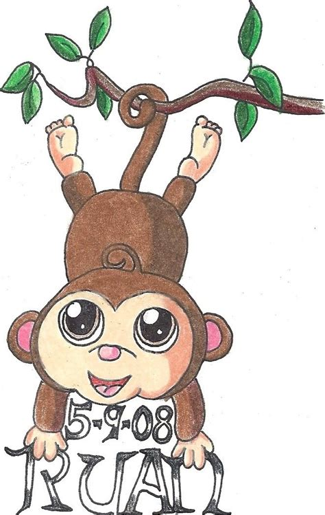 monkey tattoo design by besilentbestill on deviantart