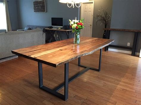 live edge kitchen table 25 best ideas about live edge table on wood