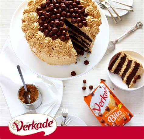 Verkade Digestive Bites Karamel chocolade karameltaart verkade