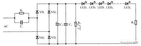 resistor voltage sensitive voltage sensitive resistor voltage reduced capacitance led driving circuit led and light