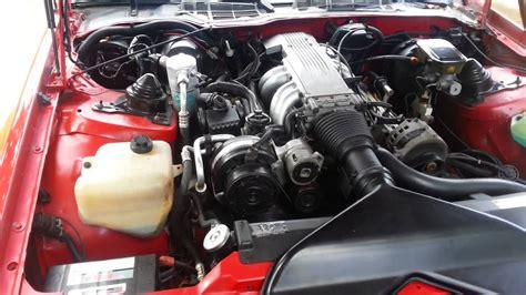 z engine 1988 5 7 iroc z tpi engine bay