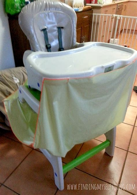 High Chair Food Catcher by Finding Myself Mummy Must Review Mumma S