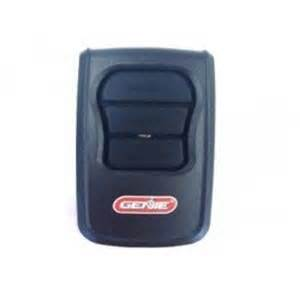 how to program a clicker garage door opener to a genie pro