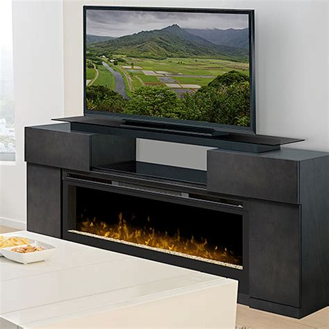 Fireplace Console Entertainment by