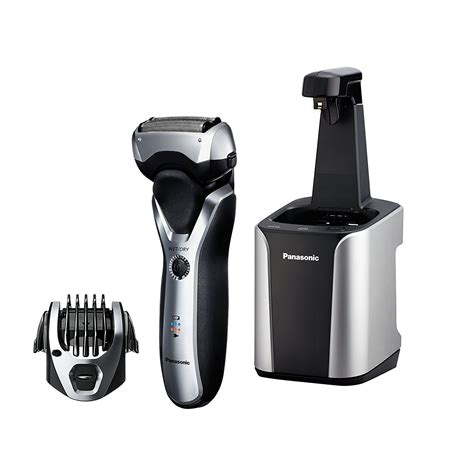 Panasonic Hair Dryer With Brush Attachment panasonic electric razor s 3 blade cordless with