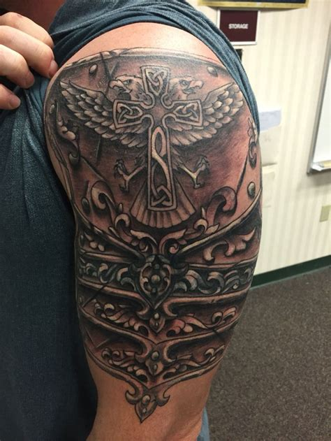 shoulder cover up tattoos for men cover up bosch armor