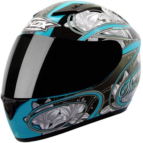 ladies motorcycle helmet shox axxis lily ladies womens motorcycle motorbike full