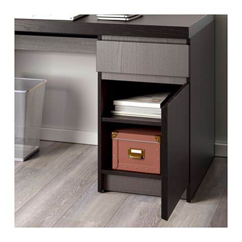 ikea scrivania malm malm desk black brown 140x65 cm ikea
