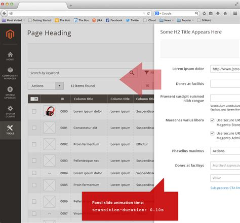 layout containers in magento 2 part 1 envalo admin design pattern library magento 2 developer