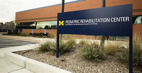 What Hospital In Michigan Has A Detox Center by Pediatric Rehabilitation Center Commonwealth Cs Mott