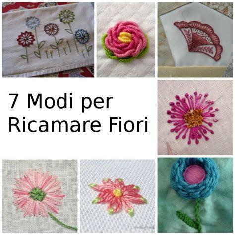 schemi ricamo fiori le migliori tecniche per ricamare fiori su tessuti arte