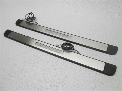 Front Door Sill Plate Front Door Sill Plates Plate Kit Lighted Scion Xd 2008 2010 Oem Ebay