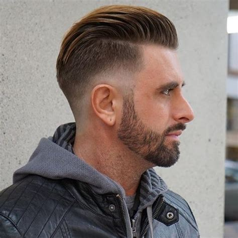 Slick Bsck Hairstyle Crown Balding | 25 spectacular blowout haircut ideas for men high trend