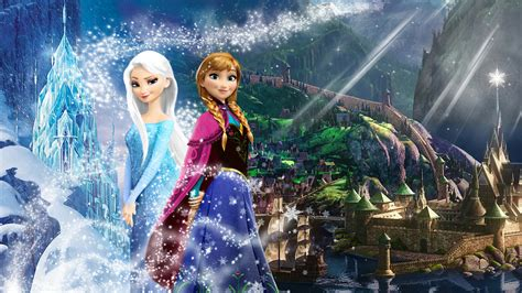 disney frozen wallpaper anna and elsa frozen 1920x1080 elsa and anna of arendelle by