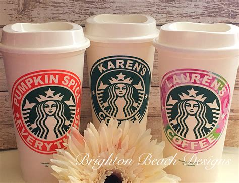 starbucks valentines cup personalized starbucks cup valentines gift custom starbucks