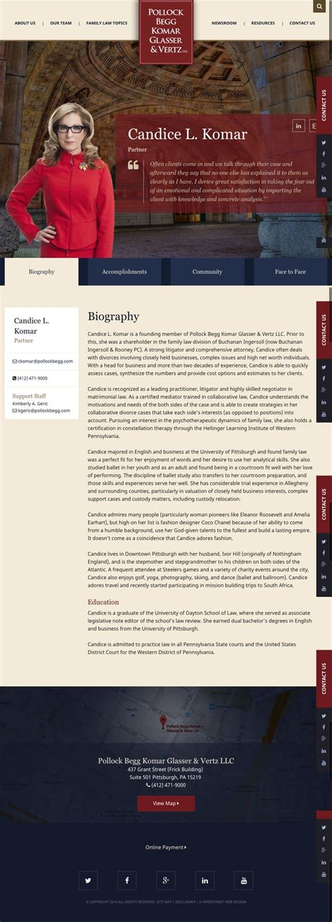 biography page layout 125 best images about attorney biography exles on