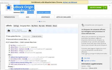chrome ublock ublock origin pour chrome