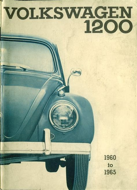 service and repair manuals 1965 volkswagen beetle engine control thesamba com 1960 1965 beetle replacement owners manual