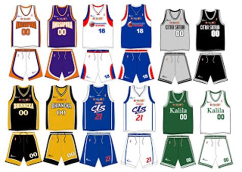 jual jersey basket desain sendiri basketball clothing collection