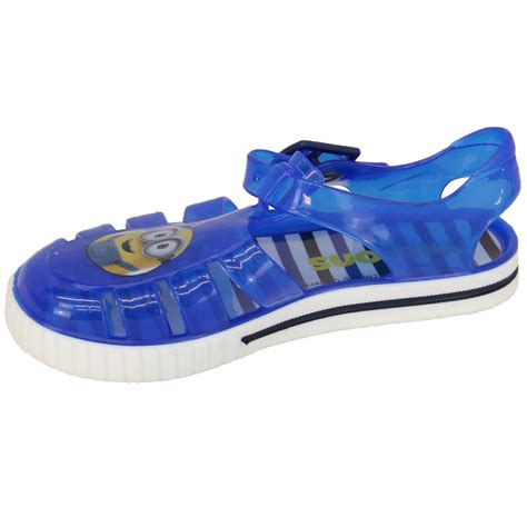 infant jelly sandals boys sandals infants jelly shoes by minions ebay