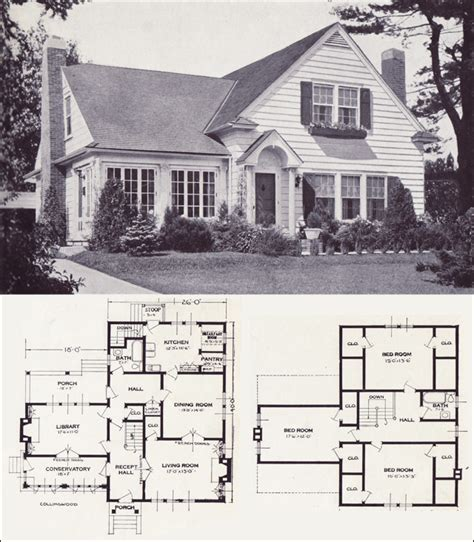 1920 house plans 1920s vintage home plans the collingwood standard