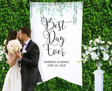 Wedding Backdrop Canvas by Wedding Backdrop Wedding Decor Personalized Names