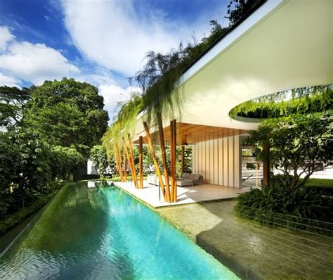 beautiful green roof garden home singapore beautiful outdoor residence strategy with interior courtyard and
