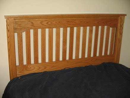 mission headboard by ryan collins lumberjocks com