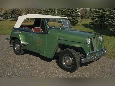 jeep jeepster for sale 1949 willys jeepster for sale classiccars com cc 874455