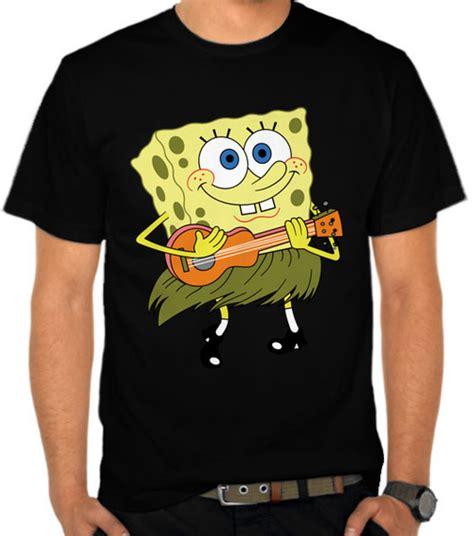 Kaos Wos Iron Series 21 jual kaos spongebob with ukulele spongebob satubaju