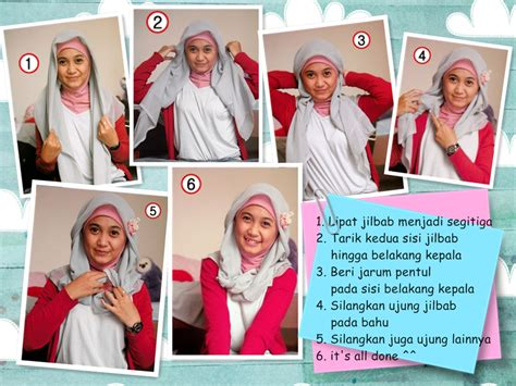 tutorial hijab paris buat kerja just simple notes tutorial hijab paris 1