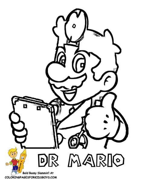dr mario coloring pages mario bros coloring super mario bros free coloring