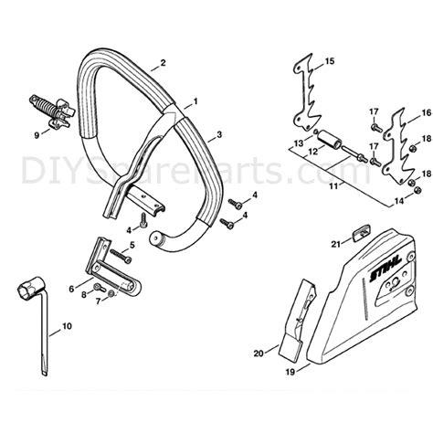 stihl ms 361 parts diagram stihl ms 361 chainsaw ms361 c qz parts diagram set wrap