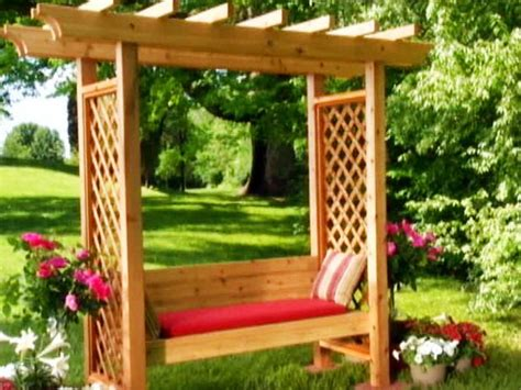 arbor with bench seat 1000 ideas about grape arbor on pinterest garden arbor