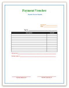 payment voucher template