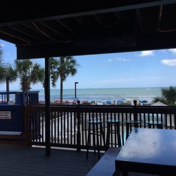backyard bar and grill myrtle beach mako s oceanfront bar grill traditional american